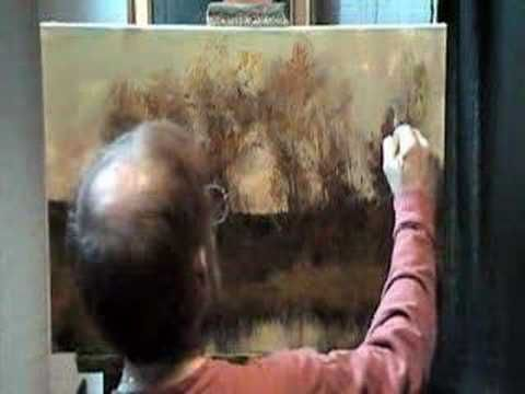 A great painting video demo by Dennis Sheehan