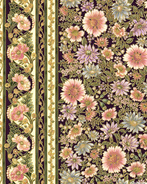 Robert Kaufman - Tuscan Wildflower 3 APTM-15406-106 BLOSSOM panel