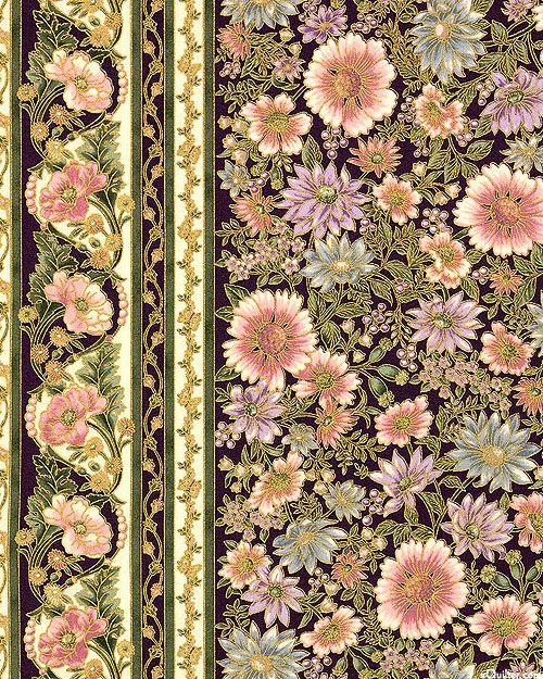 Robert Kaufman - Tuscan Wildflower 3 APTM-15406-106 BLOSSOM panel