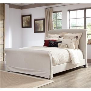 32 best images about beds and headboards on pinterest nail head brushed nickel and queen beds for Silverglade mansion bedroom set ashley furniture