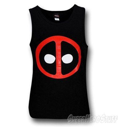 Deadpool Symbol Tank Top