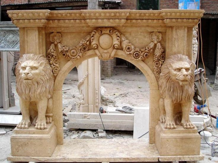 incredible-large-marble-fireplace