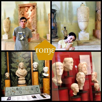 Visit to the University of Pennsylvania Museum of Archaeology and Anthropology- Ancient Greeks, Romans and Egyptians