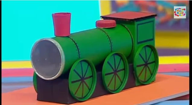 Train Pencil Pot Holder To Make By Mister Maker | Creative Crafts For You | Page 2