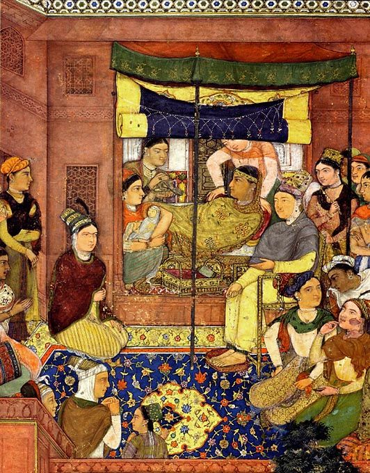 296 best mughal art images on pinterest mughal empire miniature 14th century mughal clothes google search sciox Choice Image