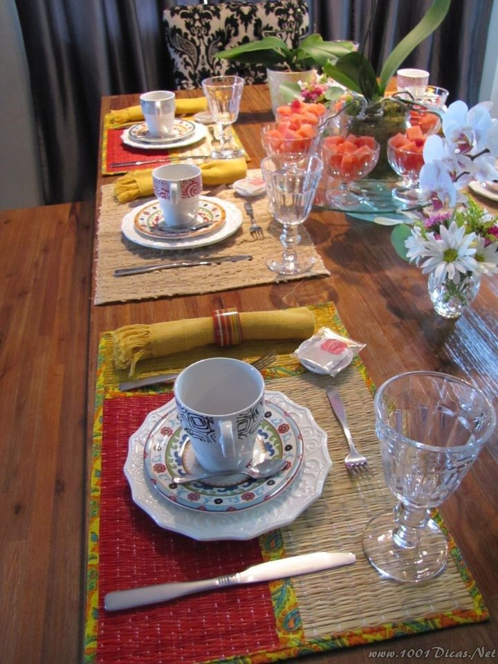 Mesa Cafe Da Manha#Breakfast Table Set up (22)