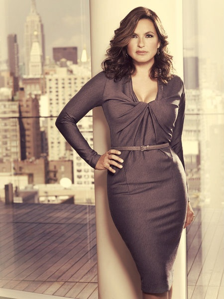 SVU Season 13 baby! Detective Olivia Benson aka Mariska Hargitay