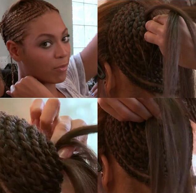 The base for a weave as demonstrated on Beyonce | Hair ...