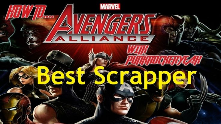 Best 13+ Juicy scrapper avengers alliance Recommended! - marvel avengers alliance how to best scrapper youtube. Find another ideas about  #avengersalliancenightcrawlerscrapperorinfiltrator #bestscrappermarvelavengersallianceios #marvelavengersalliancescrapperheroes #marvelavengersalliancestrongestscrapper #scrapperdemonsmarvelavengersalliance form our gallery. Check more at http://premierscrapbookdesign.com/best-13-juicy-scrapper-avengers-alliance-recommended