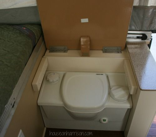 Pop Up Camper Cassette Toilet
