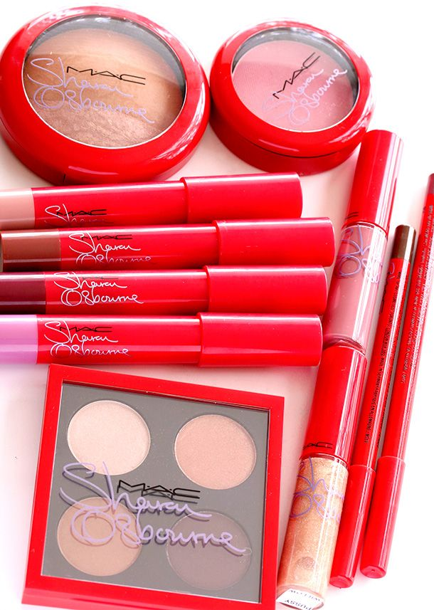 The MAC Sharon and  Kelly Osbourne Collection for Summer 2014: Sharon's Eyes and Cheeks