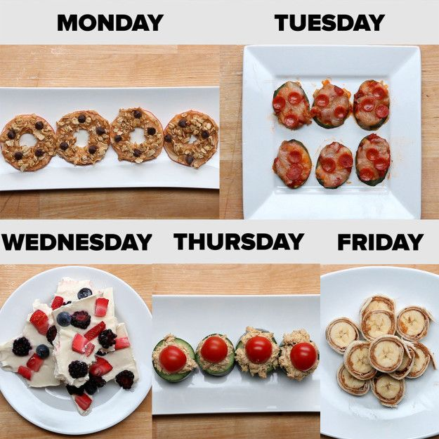After-School Snack Ideas for the Week | After-School Snack Ideas For The Week