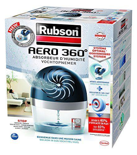 RUBSON u2013 Recharge parfumée pour absorbeur du0027humidité AERO 360 - hygrometrie dans une maison
