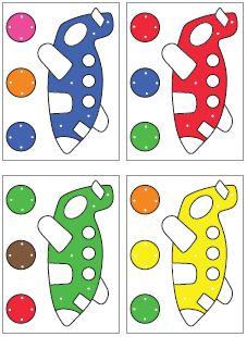 color clip cards download for preschool and kindergarten