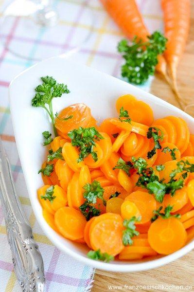 Rezept: Carottes Vichy   www.franzoesischkochen.de