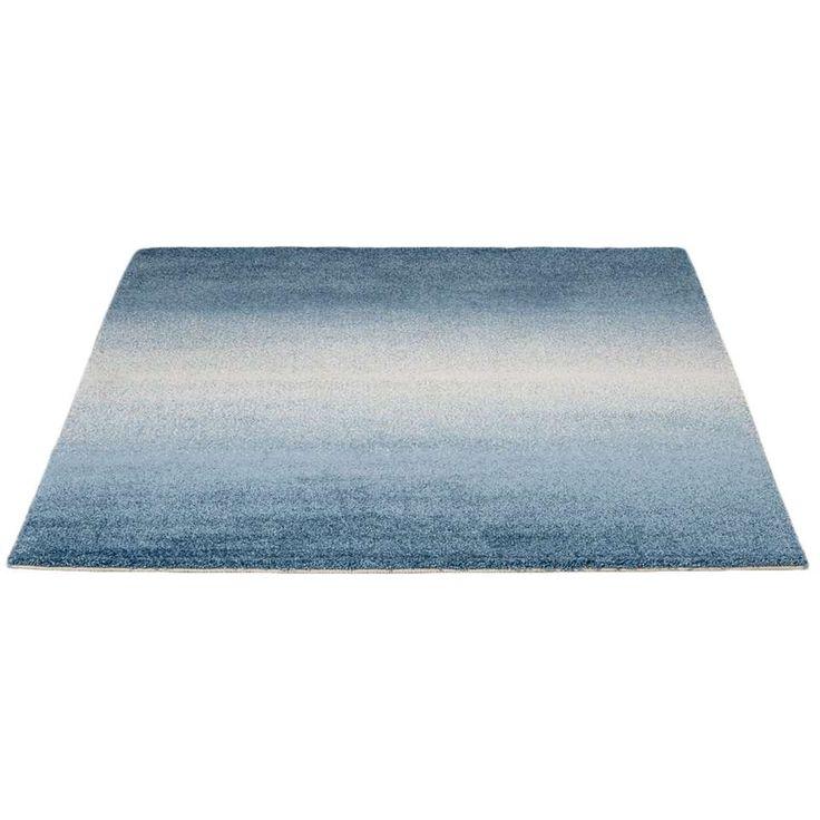 Vloerkleed Wellness - blauw - 160x230 cm   Leen Bakker