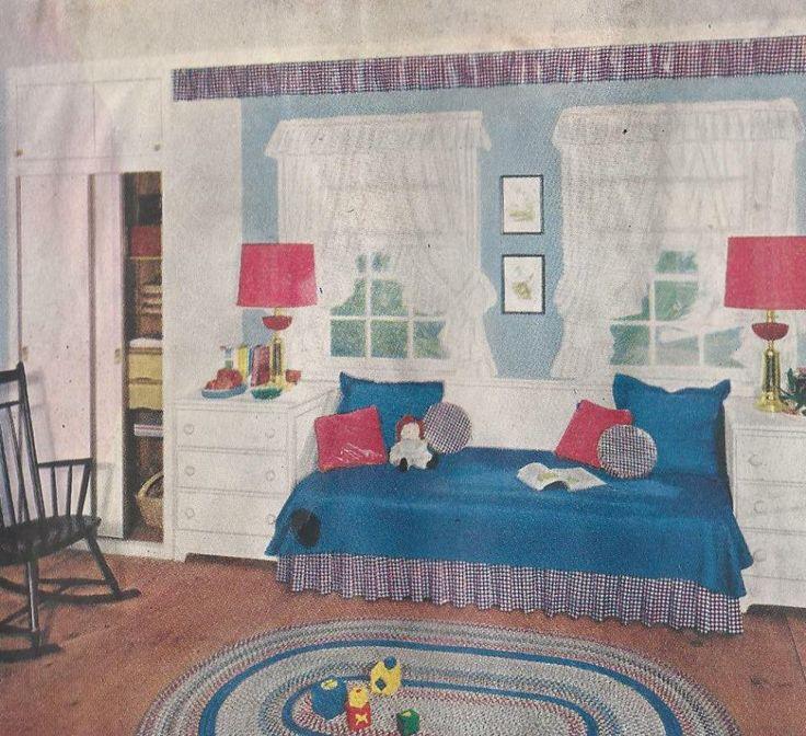 183 Best 1950s Bedroom Images On Pinterest
