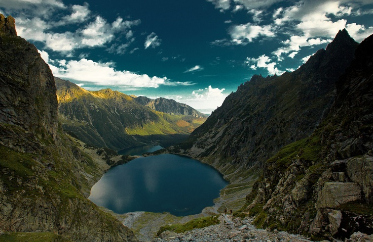 Vysoké Tatry (High Tatras, Slovakia) #slovakia #nature