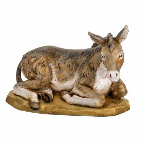 Mula pesebre Fontanini 65 - 85 cm resina | venta online en HOLYART