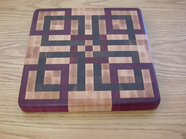 End grain cutting boards free project plan