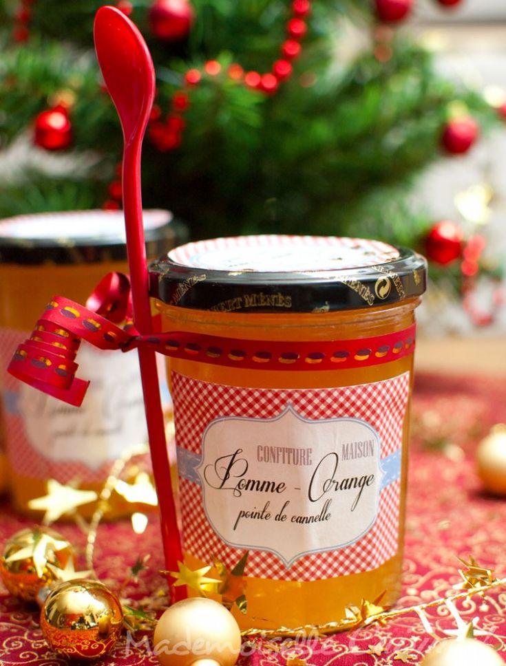 confiture pomme orange 2 778x1024 Calendrier de l'Avent des cadeaux gourmands 12 déc – Confiture pomme orange