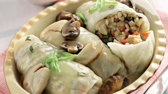 Постные голубцы с перловкой. Пошаговый рецепт с фото, удобный поиск рецептов на Gastronom.ru
