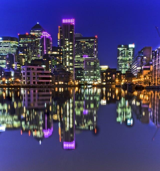Canary Wharf Reflections