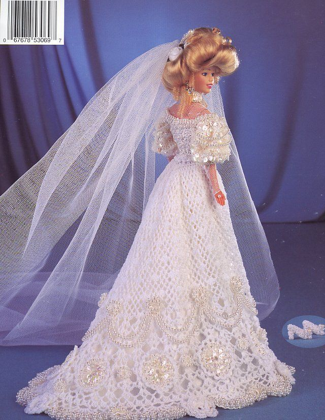 Victorian Lace Bridal Gown Paradise 58 New Barbie Doll