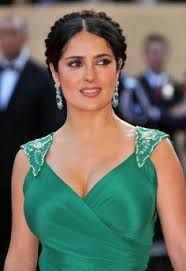 Image result for salma hayek braids