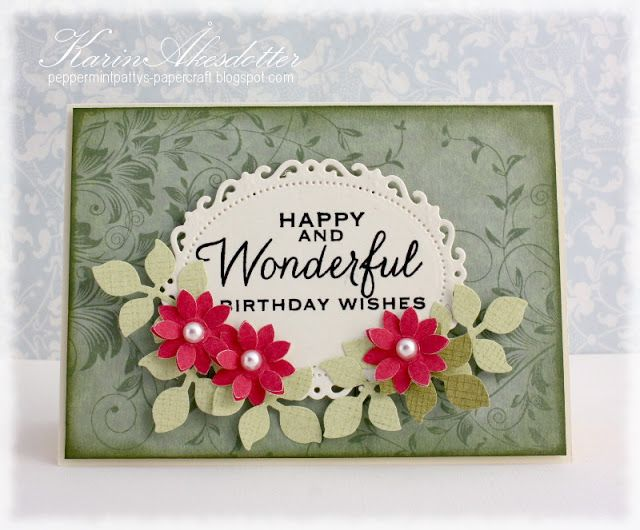 Peppermint Patty's Papercraft: Happy and wonderful birthday wishes!