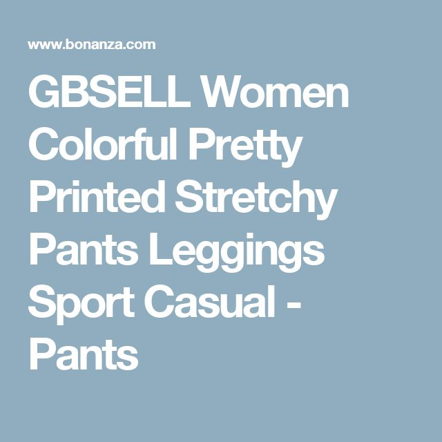 GBSELL Women Colorful Pretty Printed Stretchy Pants Leggings Sport Casual - Pants
