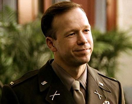 Donnie Wahlberg in Band of Brothers. Donnie portrayed Carwood Lipton who was from Huntington WV