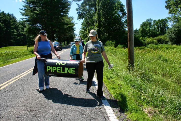 Arsenault for Senator: Tennessee Gas Pipeline (TGP) Protest