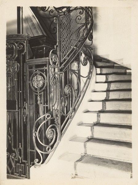 Best Art Deco Staircase Lille France Old Jacquart Photo 1930 400 x 300