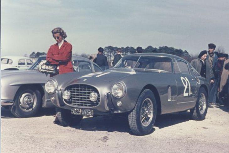 1953 Ferrari 250 Mille Miglia Berlinetta, Coachwork by Carrozzeria Pinin Farina
