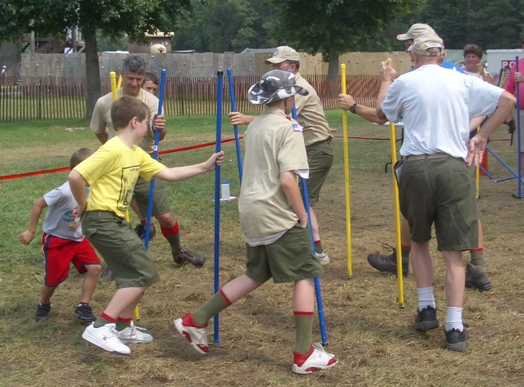 tons of cubscout game ideas
