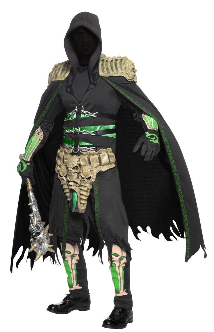 Disfraz de ladrón de almas para hombre, ideal para Halloween. Disponible en www.vegaoo.es