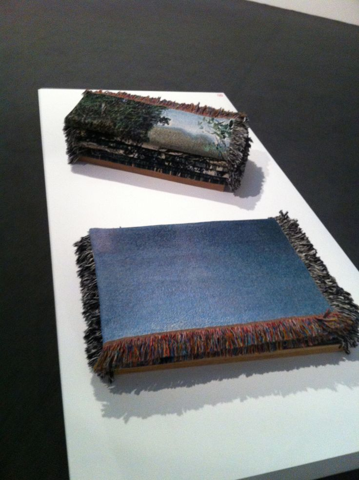 Deb Mansfields 'Folded Littoral Zones' 11 Photographic Tapestries