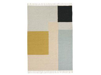 Tappeto in lana a motivi geometrici KELIM SQUARES | Tappeto - ferm LIVING