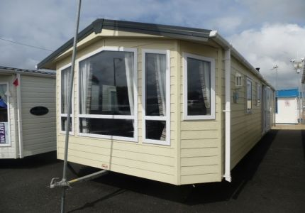 2013 Europa Willow for sale on a choice of parks in Towyn, Abergele. The caravan has barely been used and is about 10 months old. It still smells like when it came out of the factory. It is fully double glazed and central heated and sleeps a family of 6 using the sofa bed. It has a very spacious living space which is laid out to feel like a separate room and more home from home. It is a gorgeous caravan and is just £32,995 siting and connected.