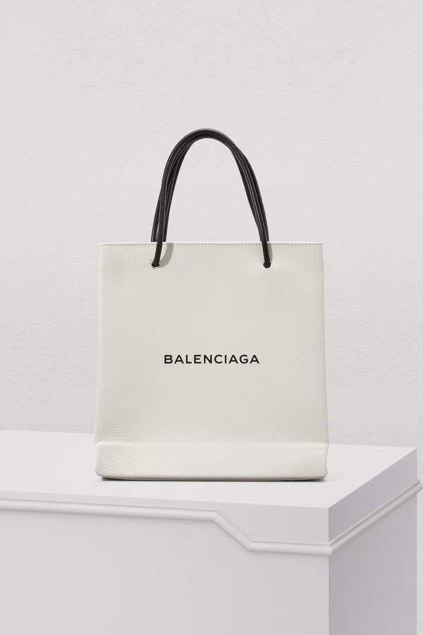 bffa027c678c0 Balenciaga Logo small shopping bag | BALENCIAGA bags in 2019 ...
