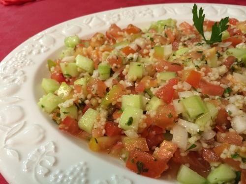 Toma nota de esta receta de ensalada marroquí con cous cous. ¡Verás qué rica!