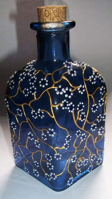 Antiquity bottle art