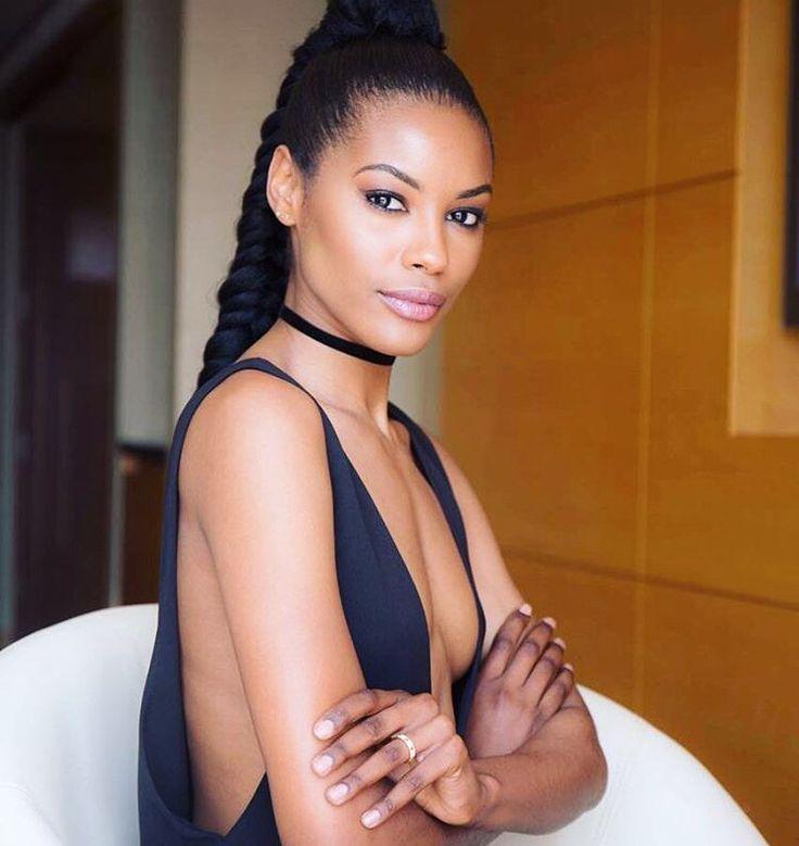 heiße schwarze südafrikanische Frauen