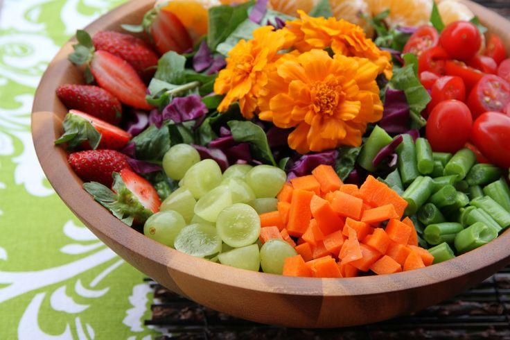 Rainbow Garden Salad