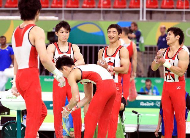 男子体操、練習はミス連発 内村「良すぎても逆に怖い」2016リオオリンピック(リオ五輪):朝日新聞デジタル