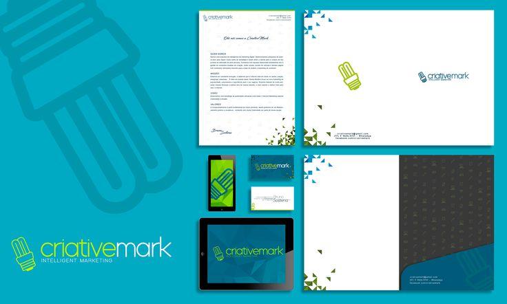 Identidade Visual da CriativeMark