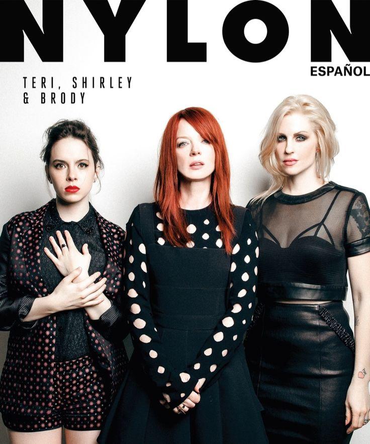 Teri Suarez, Shirley Manson and Brody Dalle Thorne on Nylon Español March 2015 Cover