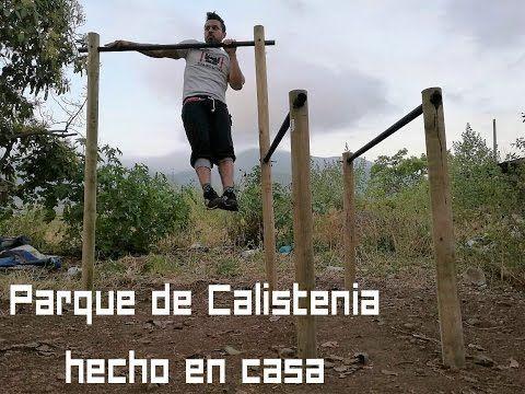 (1) ¿Como hacer un Parque de Calistenia en casa y con poco dinero? - YouTube