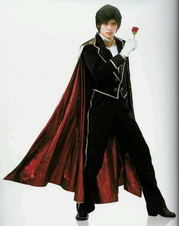 Tuxedo Mask played by Yu Shirota